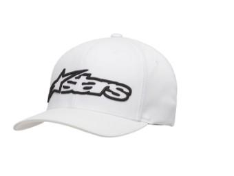 Cap Alpinestars Blaze weiß/schwarz Flexfit Mütze