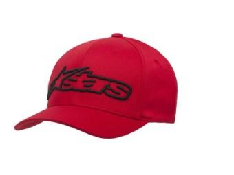 Cap Alpinestars Blaze rot/schwarz Flexfit Mütze