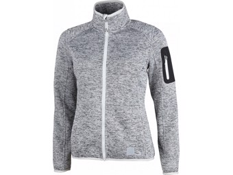 Fleecejacke High Colorado Cardwell Lady silver grey