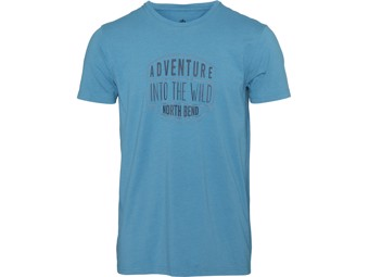 T-Shirt North Bend Vertical Tee Men blue capri