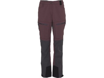 Trekking Hose North Bend NOS Trekk Pants Women eggplant