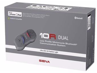 10R Dual Kit Sprechanlage Headset Bluetooth Interkom Doppelset