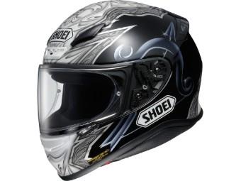 Helm Shoei NXR Diabolic LTD. TC-5 schwarz grau weiß