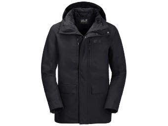 Winterjacke Jack Wolfskin West Coast Jacket Men black