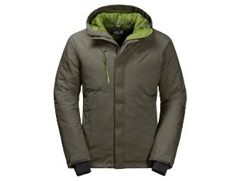 Winterjacke Jack Wolfskin Troposphere Jacket Men grape leaf