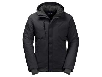 Winterjacke Jack Wolfskin Troposphere Jacket Men black