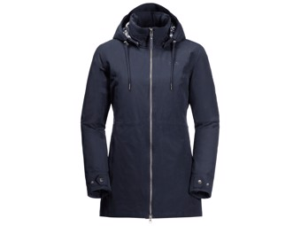 Winterjacke Jack Wolfskin Wildwood Jacket Women midnight blue