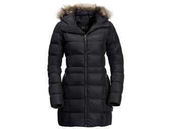Daunenmantel Jack Wolfskin Baffin Island Coat Women black