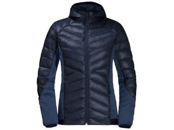 Daunenjacke Jack Wolfskin Stratosphere Jacket Women midnight blue