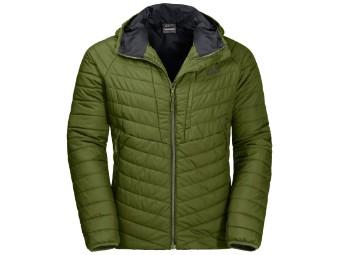 Winterjacke Jack Wolfskin Aero Trail Jacket Men cypress green