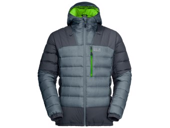 Daunenjacke Jack Wolfskin North Climate Men storm grey