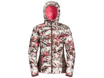 Daunenjacke Jack Wolfskin Helium Peak Hoody Women coral pink all over