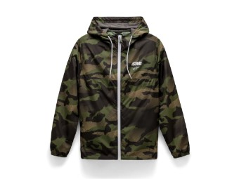 Kapuzenjacke Alpinestars Cruiser Windbreaker Jacket Camo Green