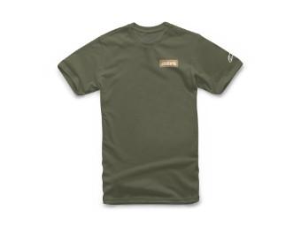 T-Shirt Alpinestars Manifest Tee military