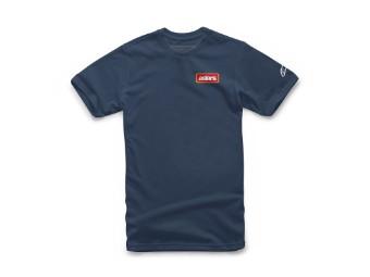 T-Shirt Alpinestars Manifest Tee navy