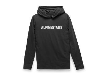 Kapuzenpullover Alpinestars Legit Hoodie Premium tee black