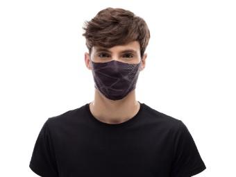 Mund und Nasenschutzmaske Buff Filter Mask Adult Ape-X  Black Gesichtsmaske