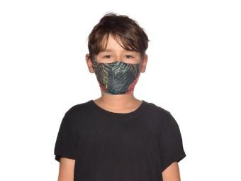 Mund und Nasenschutzmaske Buff Filter Mask Kids Stony Green Gesichtsmaske