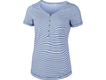T-Shirt High Colorado Elena Damen Blau