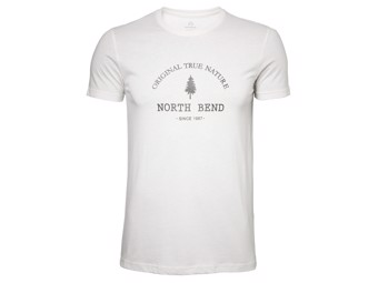 T-Shirt North Bend Vertical Men offwhite