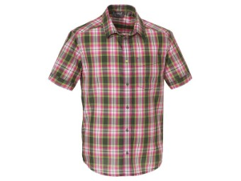 Fairford Shirt Men olive drab checks