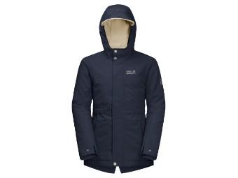 Winterjacke Jack Wolfskin Cosby Bear Girls Jacket night blue