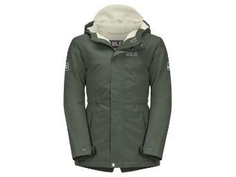 Winterjacke Jack Wolfskin Cosby Bear Girls Jacket thyme green