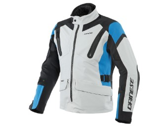 Motorradjacke Dainese Tonale D-Dry XT Jacket glacier gray performance blue