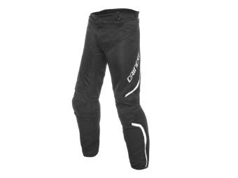 Motorradhose Dainese Drake Air D-Dry Pants schwarz weiß