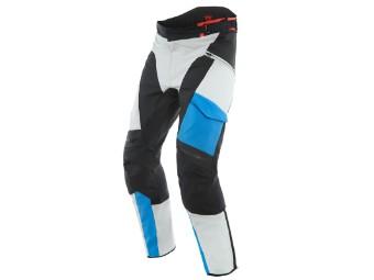 Motorradhose Dainese Tonale D-Dry XT Pants glacier gray performance blue