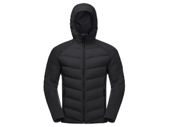 Hybridjacke Jack Wolfskin Tasman Jacket Men black
