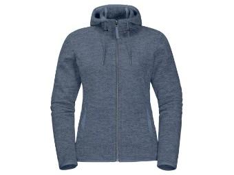 Fleecejacke Jack Wolfskin Patan Hooded Jacket Women frost blue