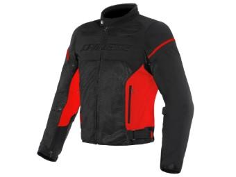 Motorradjacke Dainese Air Frame D1 schwarz rot