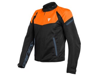 Motorradjacke Dainese Bora Air Tex Jacket Flame-Orange Black-Iris Black