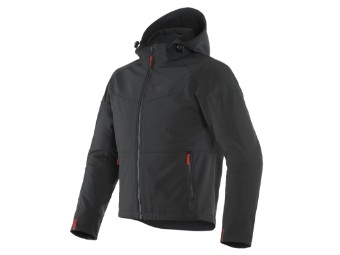 Motorradjacke Dainese Ignite Tex Jacket Black Black