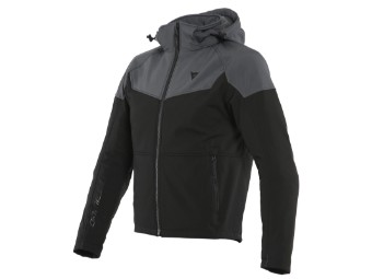 Motorradjacke Dainese Ignite Tex Jacket Black Anthracite