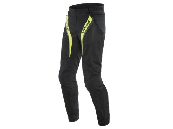 Motorradhose Dainese VR46 Grid Air Tex Pants schwarz fluo gelb