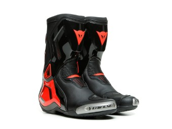 Stiefel Dainese Torque 3 Out Boots black red fluo
