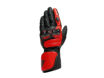 Handschuhe Dainese Impeto Gloves black lava red