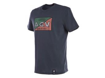 T-Shirt Dainese AGV 1947 Retro anthrazit