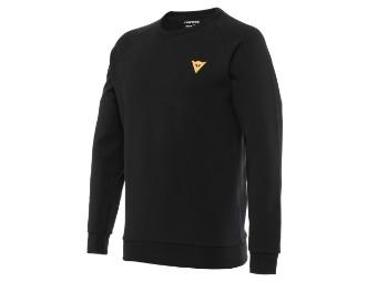 Pullover Dainese Vertical Sweatshirt black orange