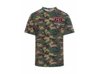 T-Shirt Nicky Hayden MotoGP Legends Camo NH69