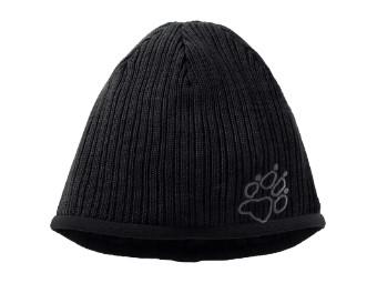 Mütze Jack Wolfskin Stormlock Rip Rap Cap black