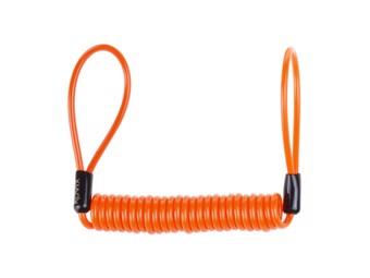 Bremsscheibenschloss Erinnerung Lock Reminder orange
