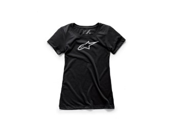 T-Shirt Alpinestars Women's Ageless Tee black