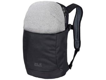 Rucksack Jack Wolfskin Protect 20 Pack Daypack Diebstahlsicher black