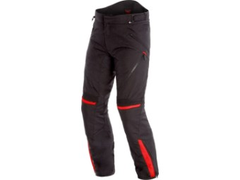 Motorradhose Dainese Tempest 2 D-Dry Pants schwarz rot