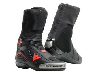 Motorradstiefel Dainese Axial D1 Air In schwarz rot fluo