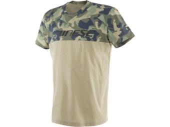 T-Shirt Dainese Camo Tracks Camel