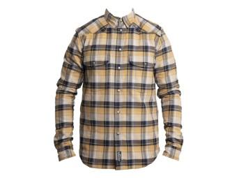 Lumberjack Shirt John Doe Motoshirt XTM Yellow